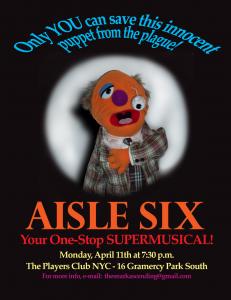 Aisle Six poster - Hondo
