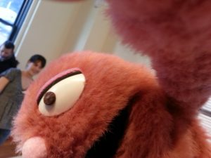 Izzy selfie